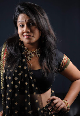 Tollywood Actress Jyothi Hot Saree Photos Gallery
