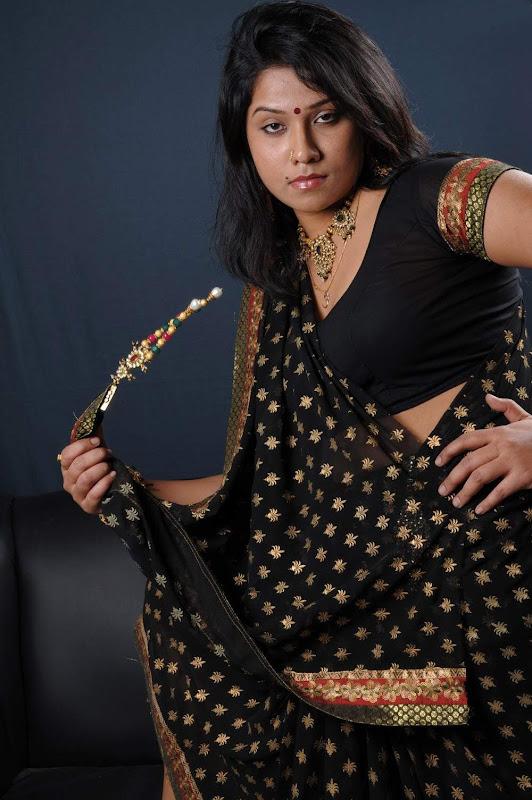 Actress Jyothi Hot Masala Saree Blouse Photos Gallery navel show