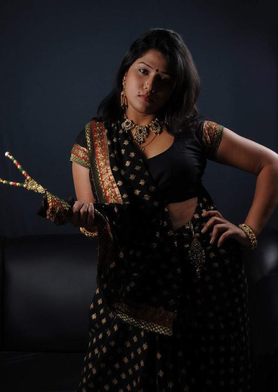Actress Jyothi Hot Masala Saree Blouse Photos Gallery sexy stills