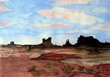Monument Valley (kleur) (te koop)