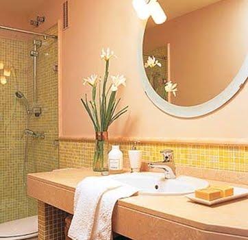 Espacios creados cuartos de ba o peque os - Fotos cuartos de bano pequenos ...