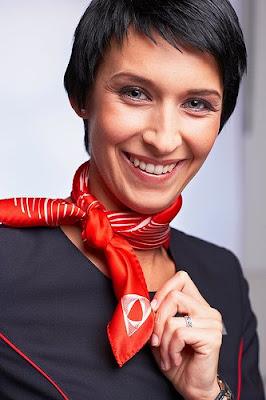 warm you up flight attendant scarf