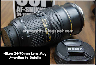 Nikon Camera Lens Coffee Mugs