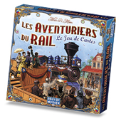 Photo de Les aventuriers du rail - Le jeu de cartes