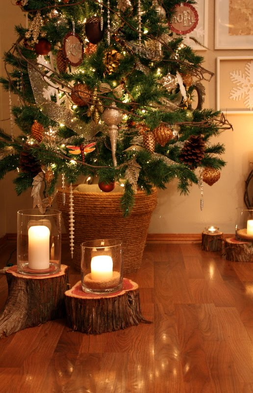 Creative Juices Decor Christmas Vignettes Natural Woodsy
