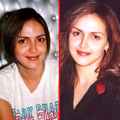 No Makeup Stars. indian stars without makeup.
