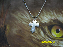 ( 28 )       stainless steel neckaces and cross