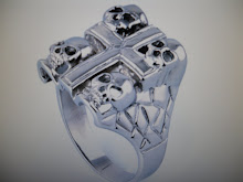 (13 )       stainless steel cross ring $25.00