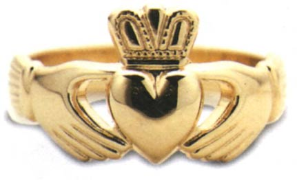 The Claddagh Ring. The Irish Wedding Ring.