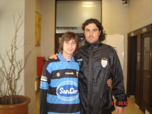 Marcos Anan junto a Gonzalo Del Bono