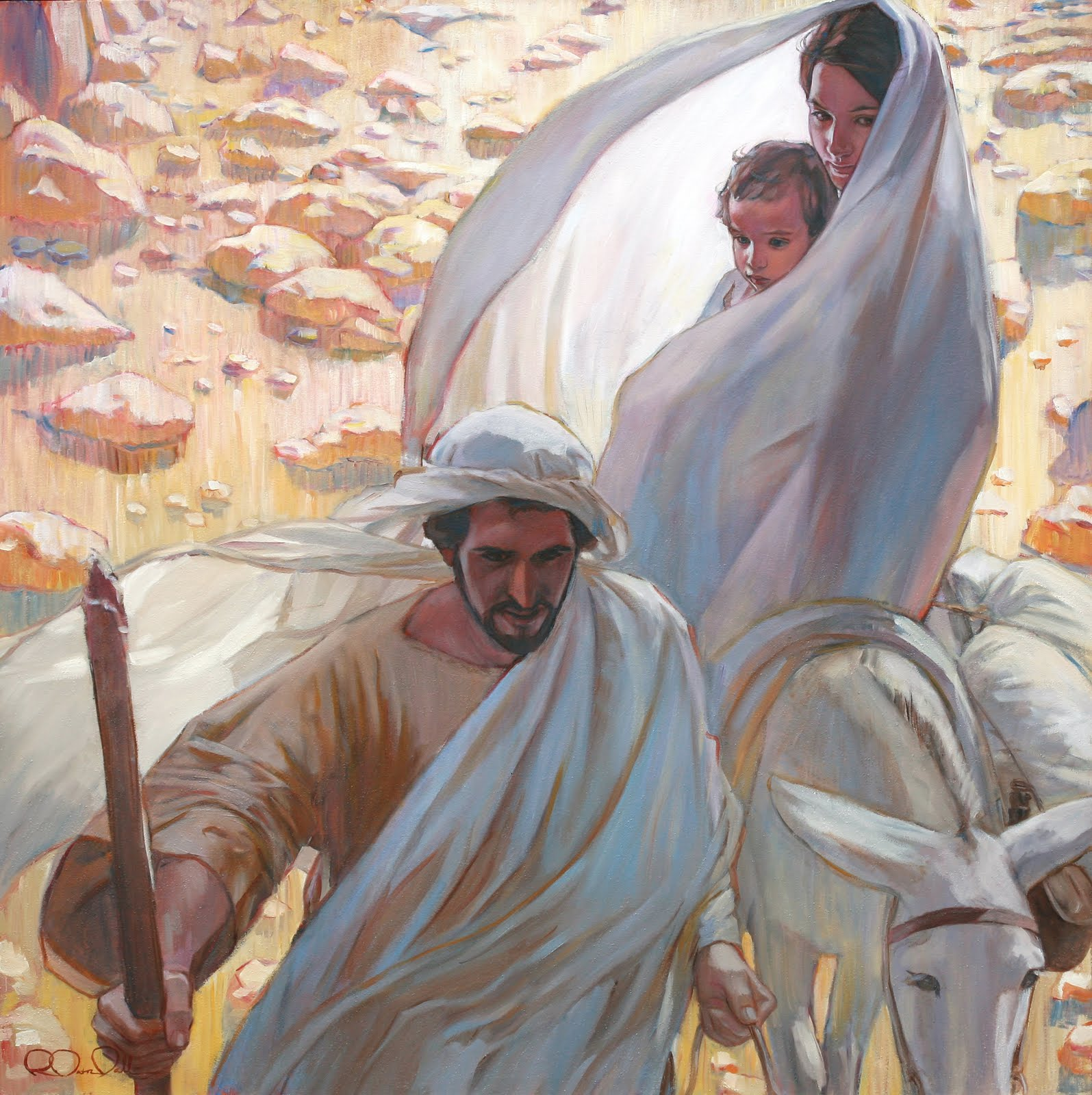 a story of joseph and his relation to jesus christ Jesus of nazareth: the infancy  the genealogy breaks off and comes to a stop when it reaches joseph: jesus, when he began his  on the person of jesus christ i.