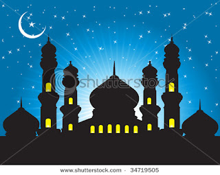 moon night wallpaper for eid