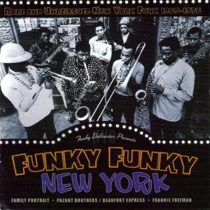 Funky Funky New York - Rare and unreissued NY funk 1969-1976