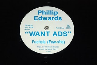 PHILIP EDWARDS - 1983 -  WANT ADS ( FUCHSIA)