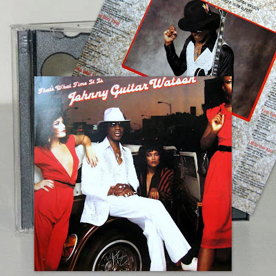 Johnny Guitar Watson - That's What Time It Is /1981 / CD