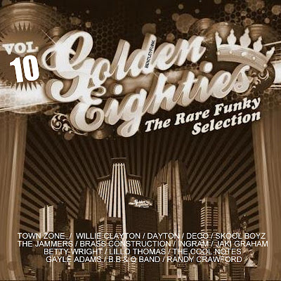 GOLDEN EIGHTIES /  10 /  THE RARE FUNKY SELECTION