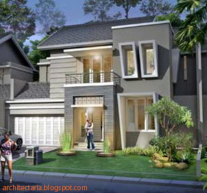 model rumah 2 lantai on Rumah Kita: Memilih Desain Rumah Yang Berkarakter Penghuni