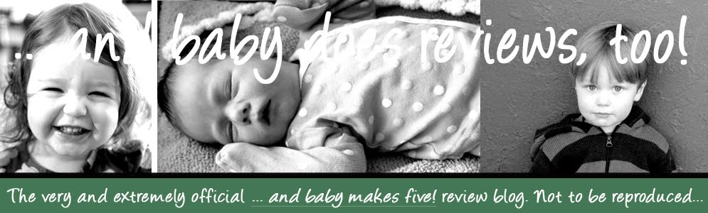... and baby does reviews, too!