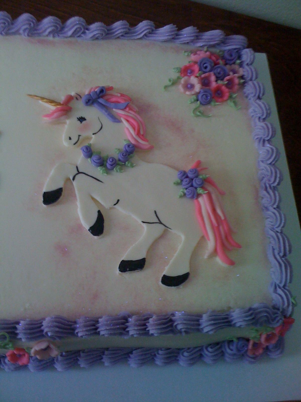 Donna Belle Desserts Unicorn Cake