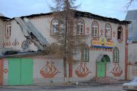 пожар в мотеле БРИГ в Лысково