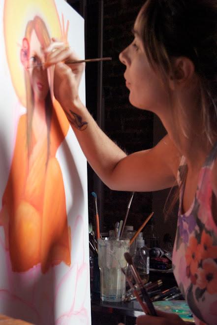 Pintando ando...