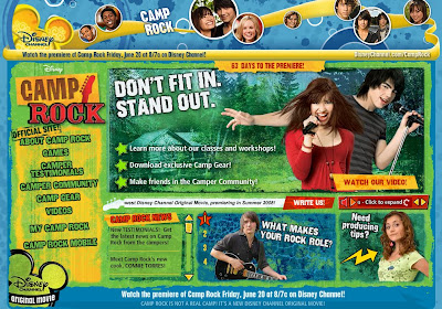 Closed Camp Rock Official Site