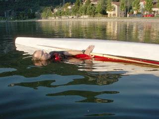 Nerrajaq si esercita in un'uscita bagnata dal kayak