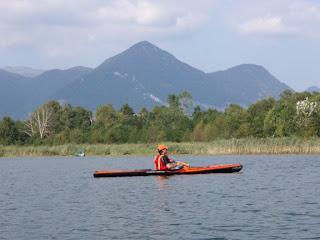 Cristiano sul lago di Alserio