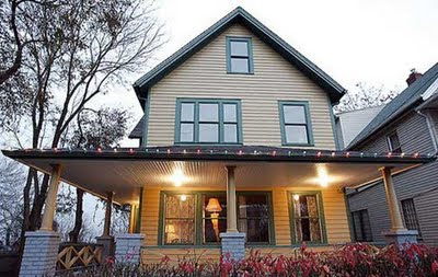 All Things Cleveland Ohio: A Christmas Story House Lights Up For Christmas