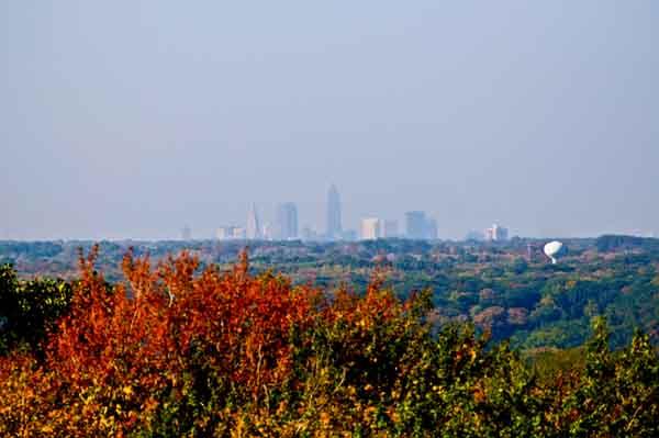 cleveland skyline. Cleveland Ohio skyline,