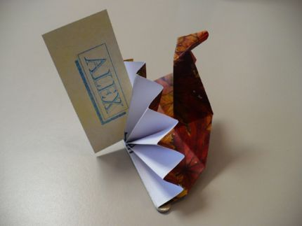 3D Origami Turkey Pictures Modular Paper Folding | Origami and