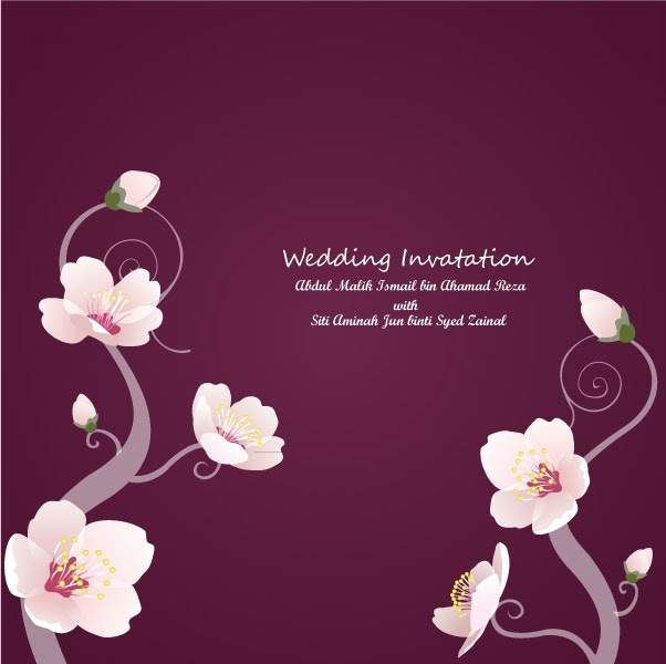 Simple wedding card for simple budget | Johari Sahlan, 602x600 in 37 ...