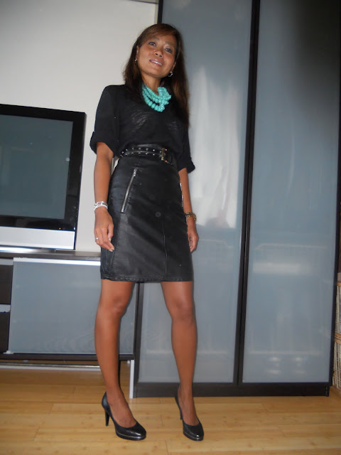 stilettos and a rottie leather for office