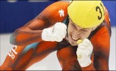 Marc Gagnon, intronisé au Panthéon des sports canadiens
