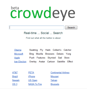 CrowdEye Home