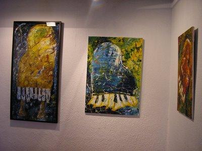 Associaci sant lluc per l 39 art inauguracio al casal laia - Residencia laia mataro ...