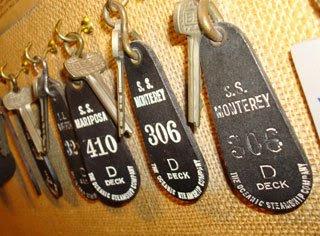 cruse liner room keys