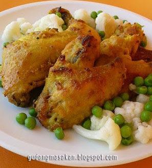 Resep  Masakan Ayam Goreng Bandung