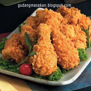 Resep Masakan Ayam Goreng Renyah