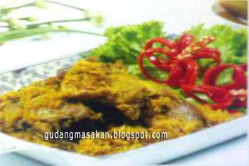 Resep Masakan Ayam Goreng Kelapa