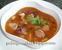 Resep Masakan Sup Kacang Merah