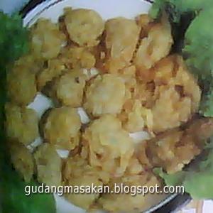 Resep Masakan Kembang Goreng Bakso