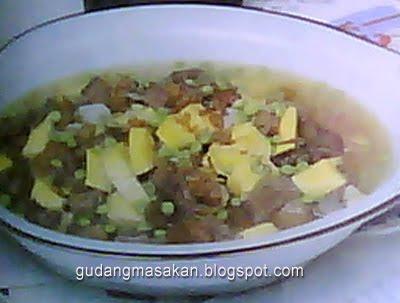 Resep Masakan Sup Lidah Kuning