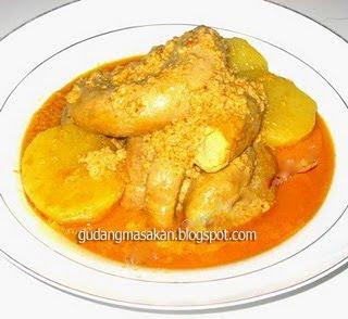 Resep Masakan Gulai Usus
