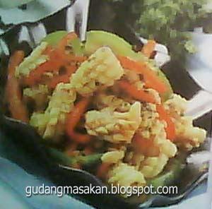 Resep Masakan Cumi Paprika