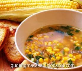 Resep Masakan Sup Jagung