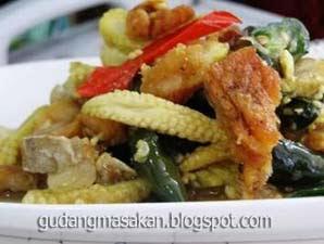 Resep Masakan Oseng-Oseng Jagung Muda