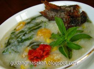 Resep Masakan Bubur Manado