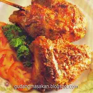 Resep Masakan Ayam Panggang Cabai