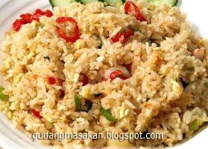 Resep Masakan Nasi Goreng kepiting